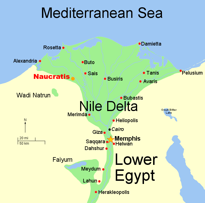 Travel to the Nile Delta, the birthplace of civilization.