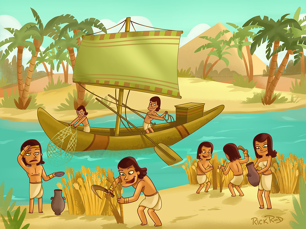 Showing post & media for Ancient egypt nile river cartoon.