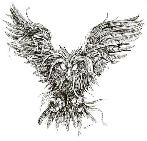 Secret of nimh owl clipart.
