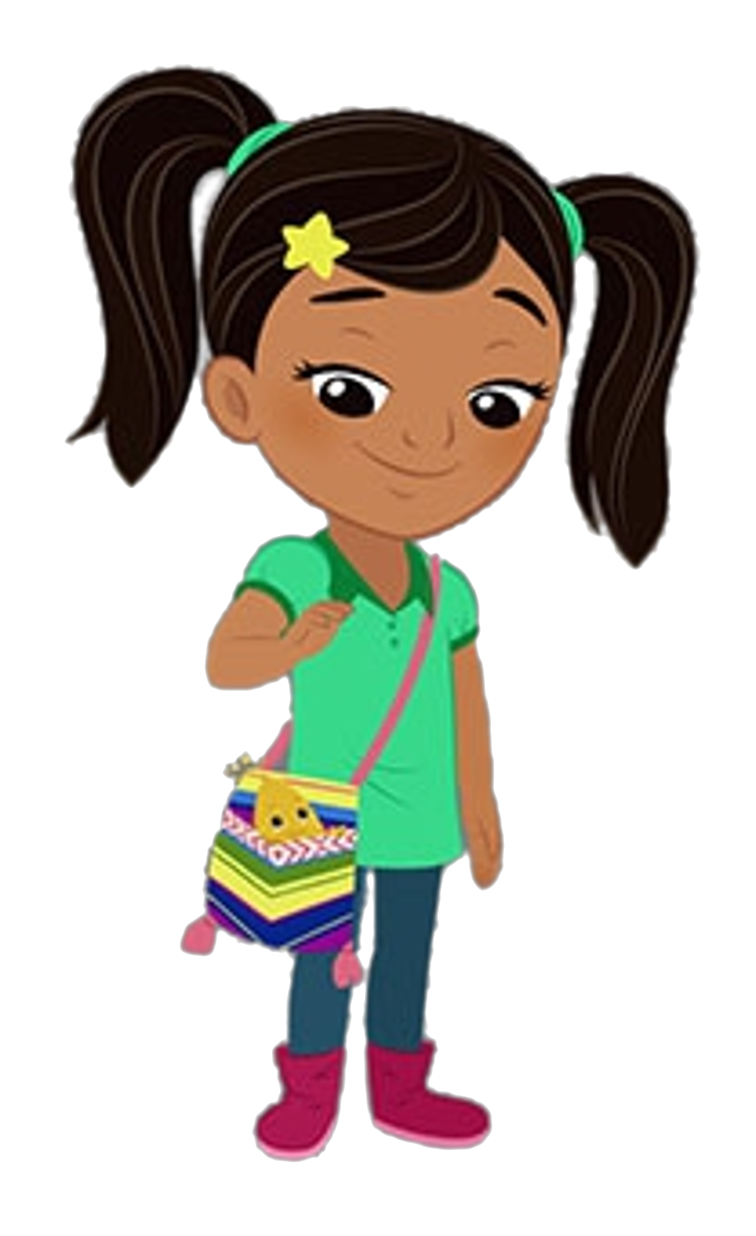 Cartoon Characters: Nina's World (PNG).