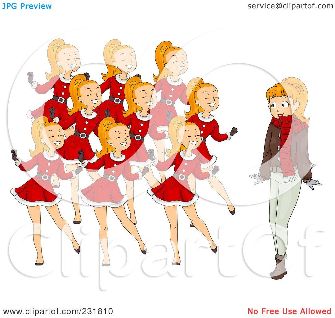 Watch more like Nine Ladies Dancing Paintings.