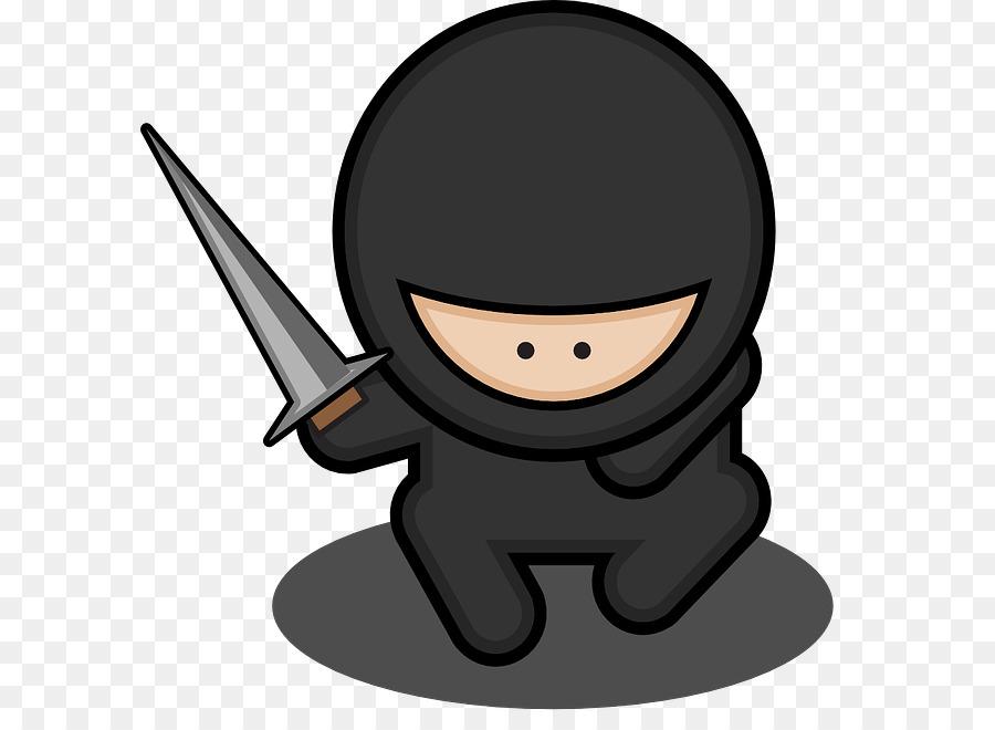Ninja Cartoon clipart.