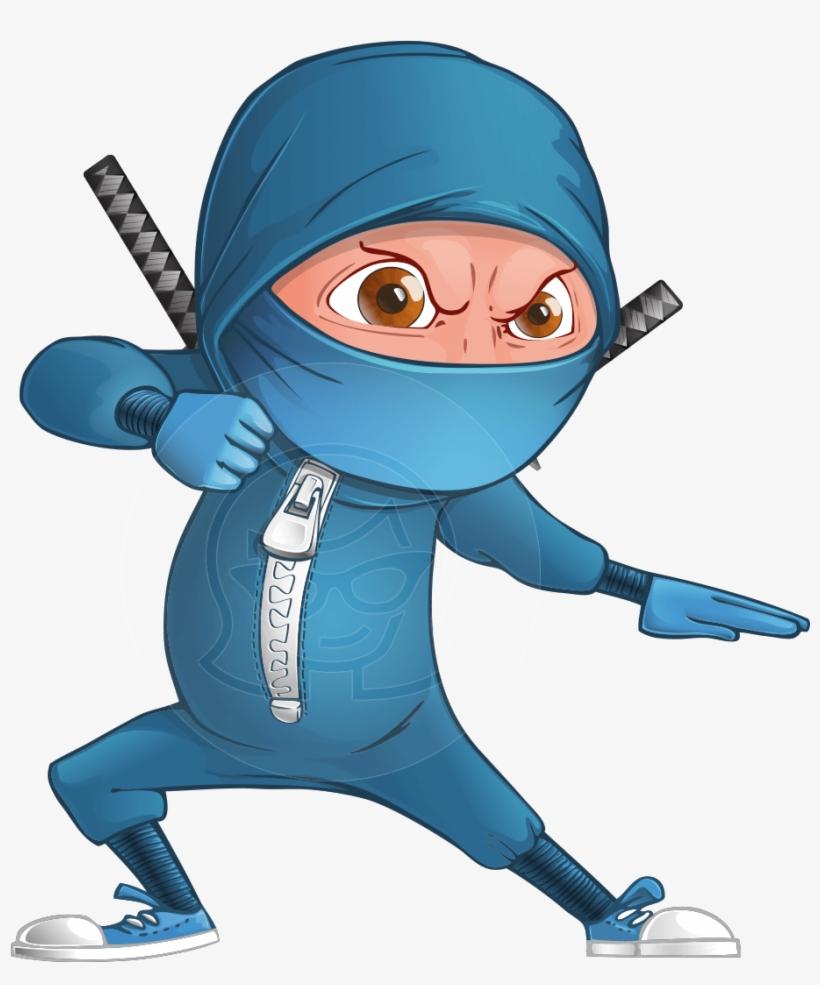Cartoon Ninja Png.