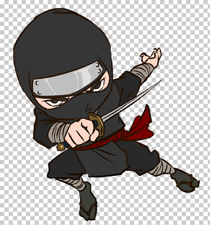 Ninja Cartoon Kids World Gymnastics , Ninja s, ninja holding.