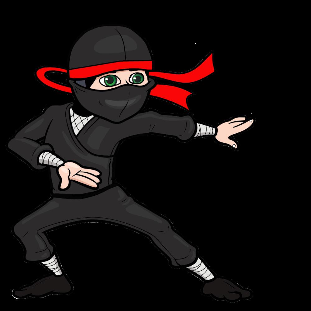 Training Ninja Clip art.