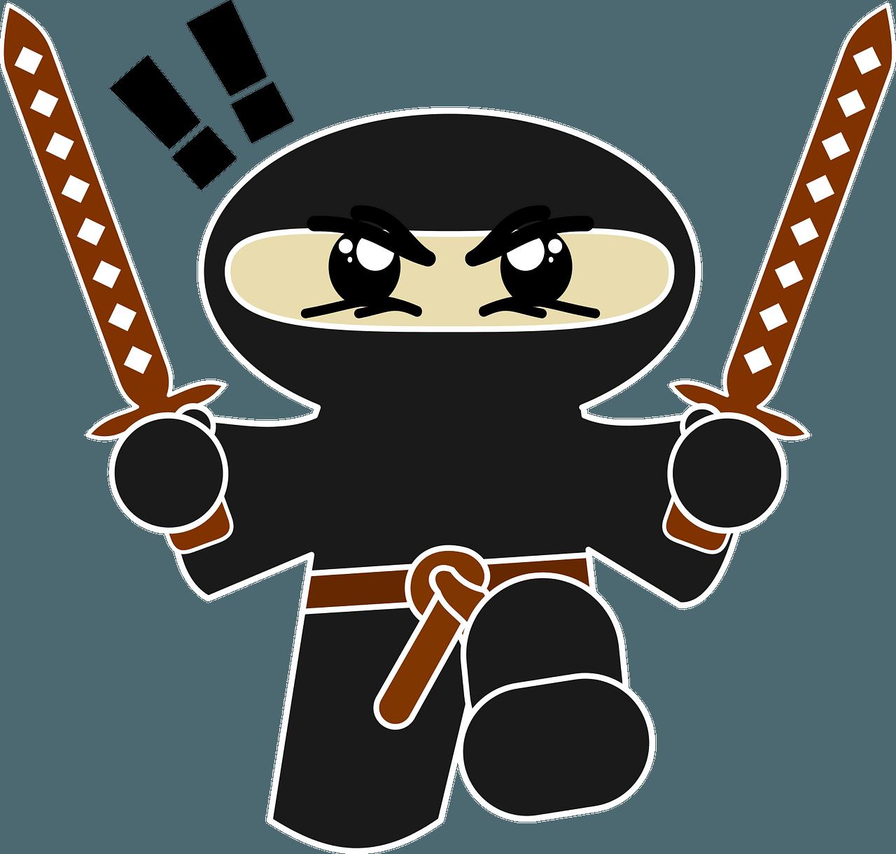Chibi Ninja clipart. Free download..