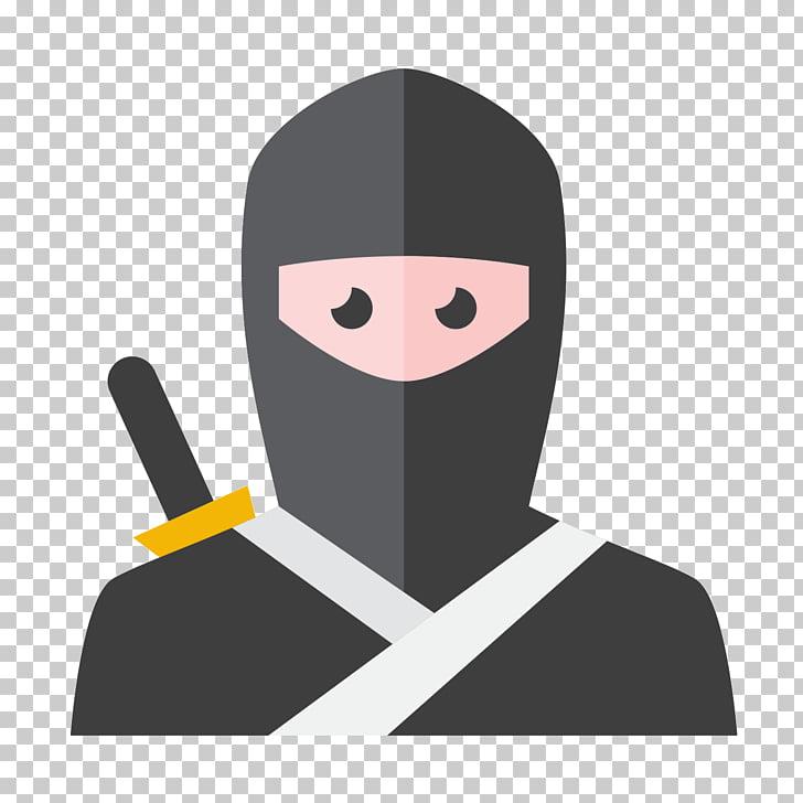 Ninja Icon design Icon, Gray ninja PNG clipart.