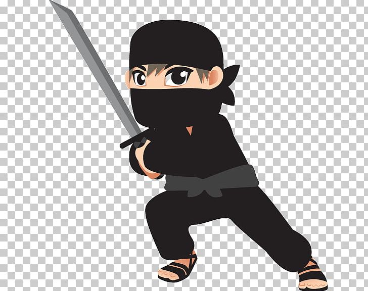 Ninja Kid Cartoon Illustration PNG, Clipart, Baseball.