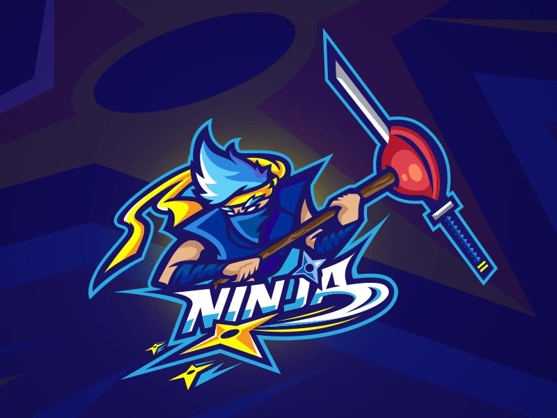 Ninja Fortnite Logo.