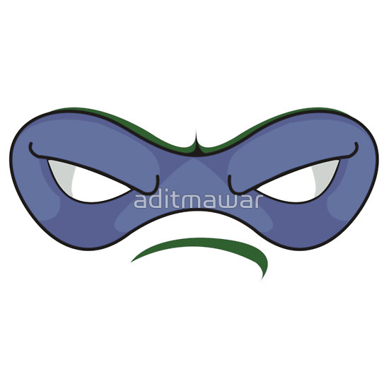 Ninja mask clipart.