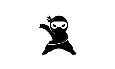 Ninja Silhouette Vector at GetDrawings.com.