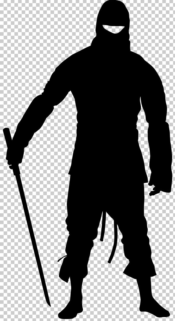 Silhouette Ninja PNG, Clipart, Animals, Black, Black And.