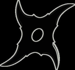 Ninjastar Clip Art at Clker.com.
