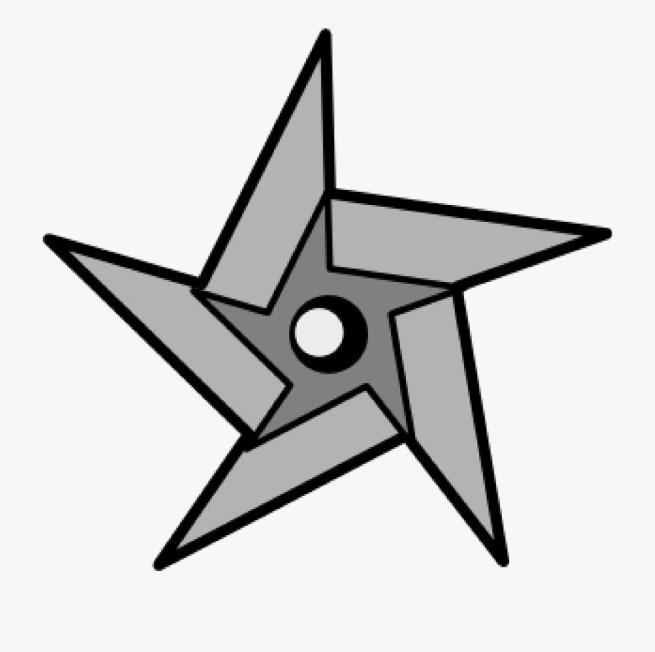 Ninja Star Clipart.