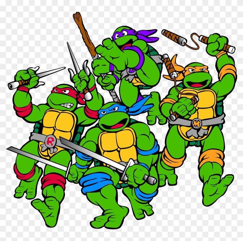 Ninja Turtles Clipart 80's.