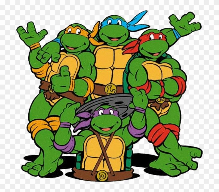 Classic Ninja Turtles Clipart.