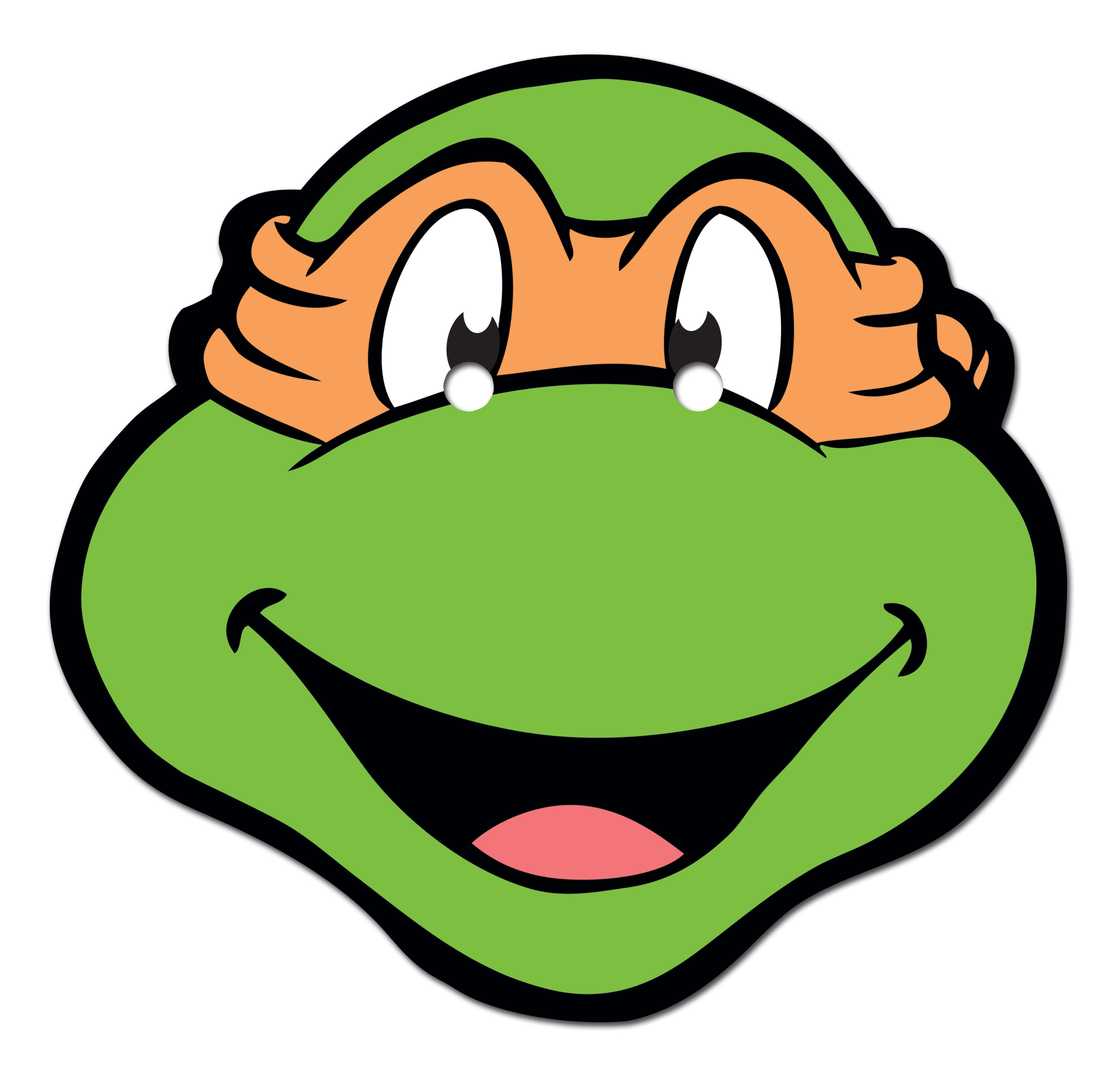 Ninja Turtle Head Clipart.