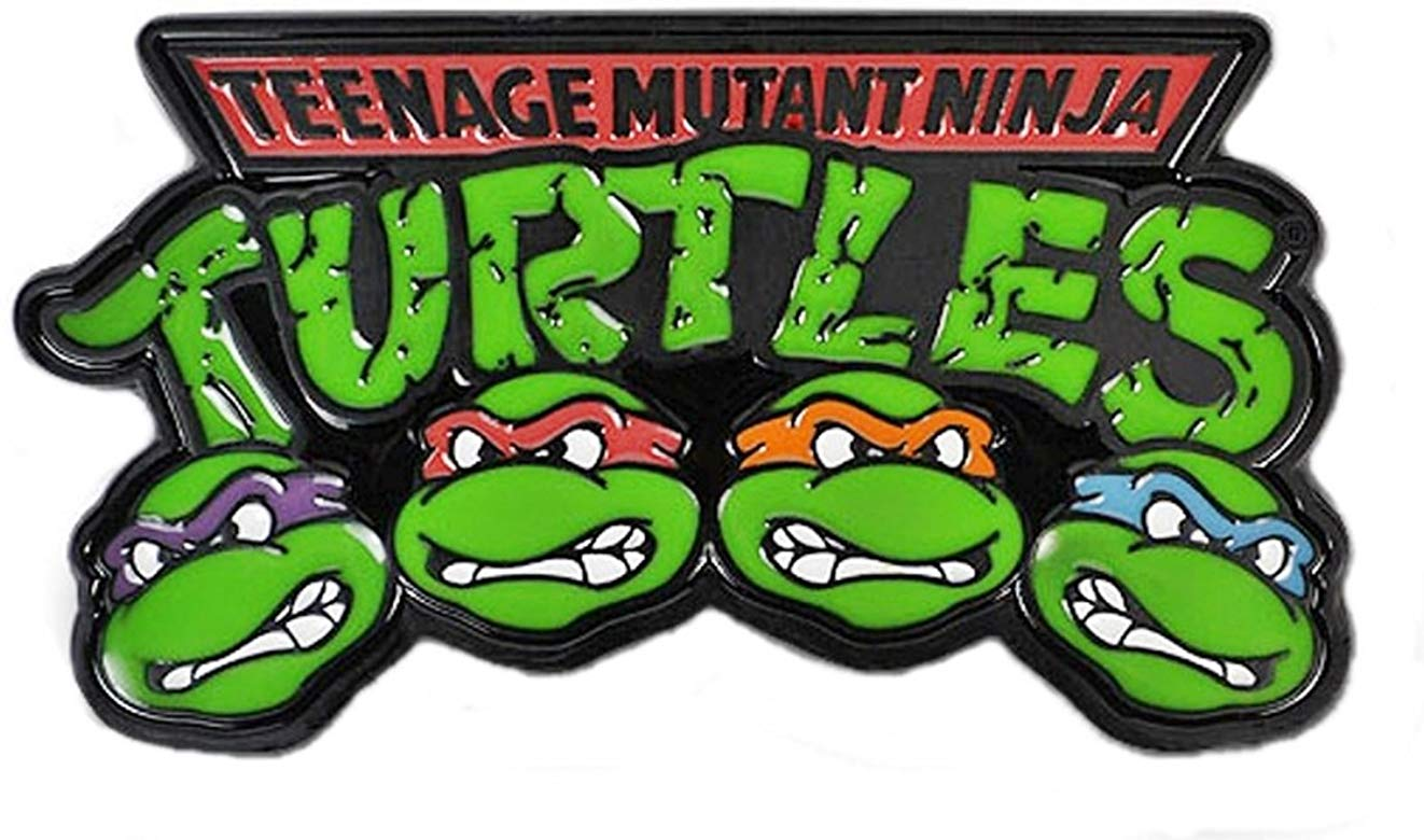 Amazon.com: Teenage Mutant Ninja Turtles Logo w/Faces Belt.