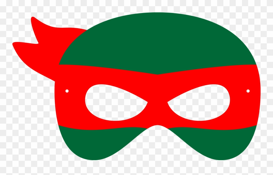 Black And White Library Mask Svg Tmnt.