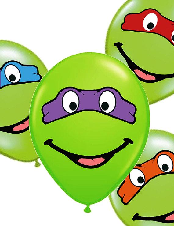 INSTANT DOWNLOAD Teenage Mutant Ninja Turtles Printable Mask Eyes.