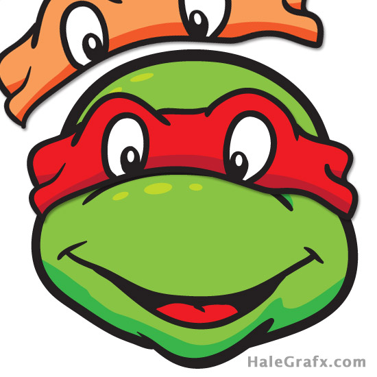 FREE TMNT Pin the Mask on the Ninja Turtle Printable.