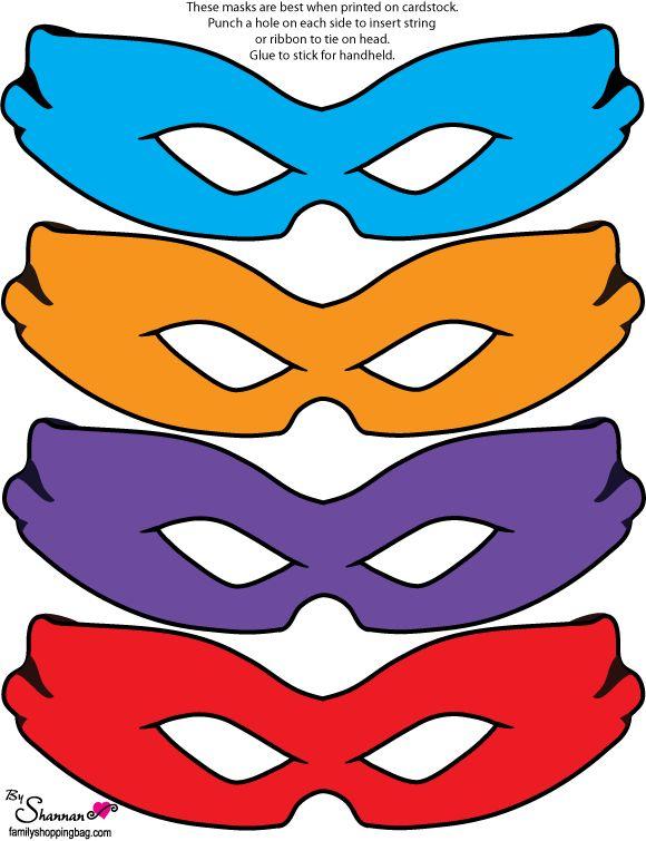 25+ best ideas about Ninja Turtle Mask on Pinterest.