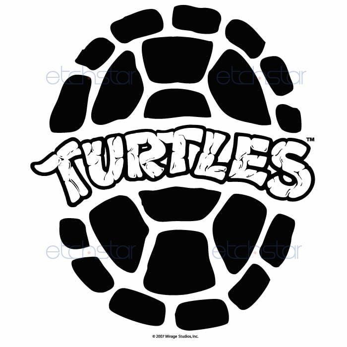 Teenage Mutant Ninja Turtle Shell Clipart.