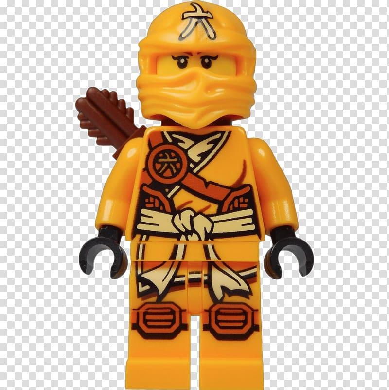 Lego Ninjago character minifig illustration, Lloyd Garmadon.