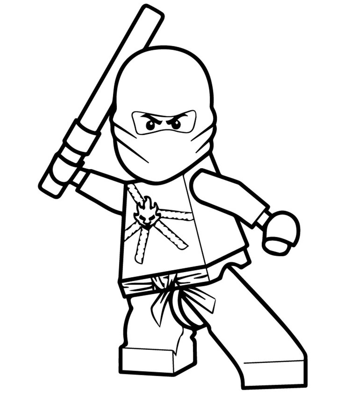 Top 40 Free Printable Ninjago Coloring Pages Online.