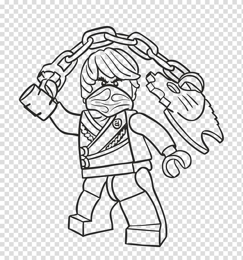 LEGO Ninjago Coloring Pages Drawing Coloring book, cole.