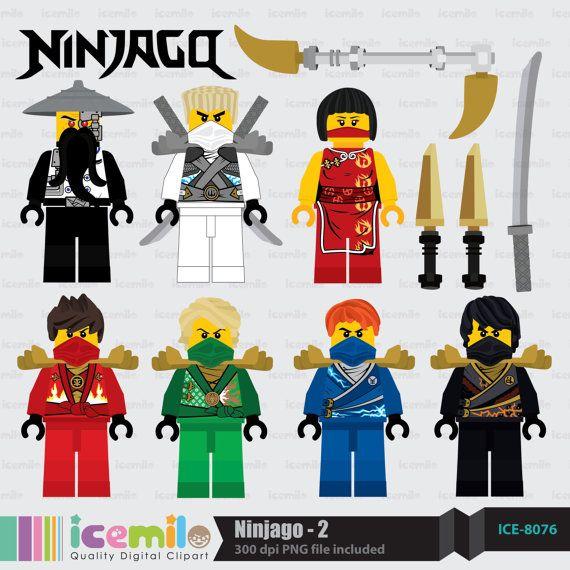 Green Ninjago Clipart.
