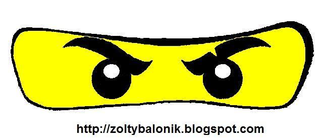 Yellow balloon: Ninjago.