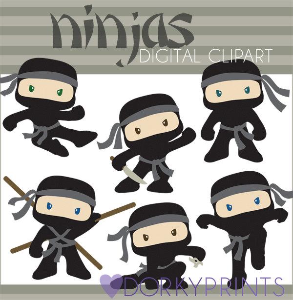 Ninja clip art.