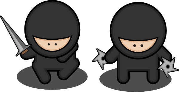 Ninja Clipart.