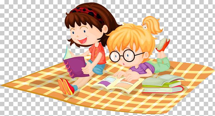 Niño leyendo ilustración, leyendo niños PNG Clipart.