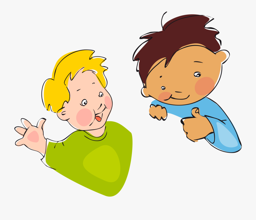 Cartoon Illustration Child Free Frame Clipart.