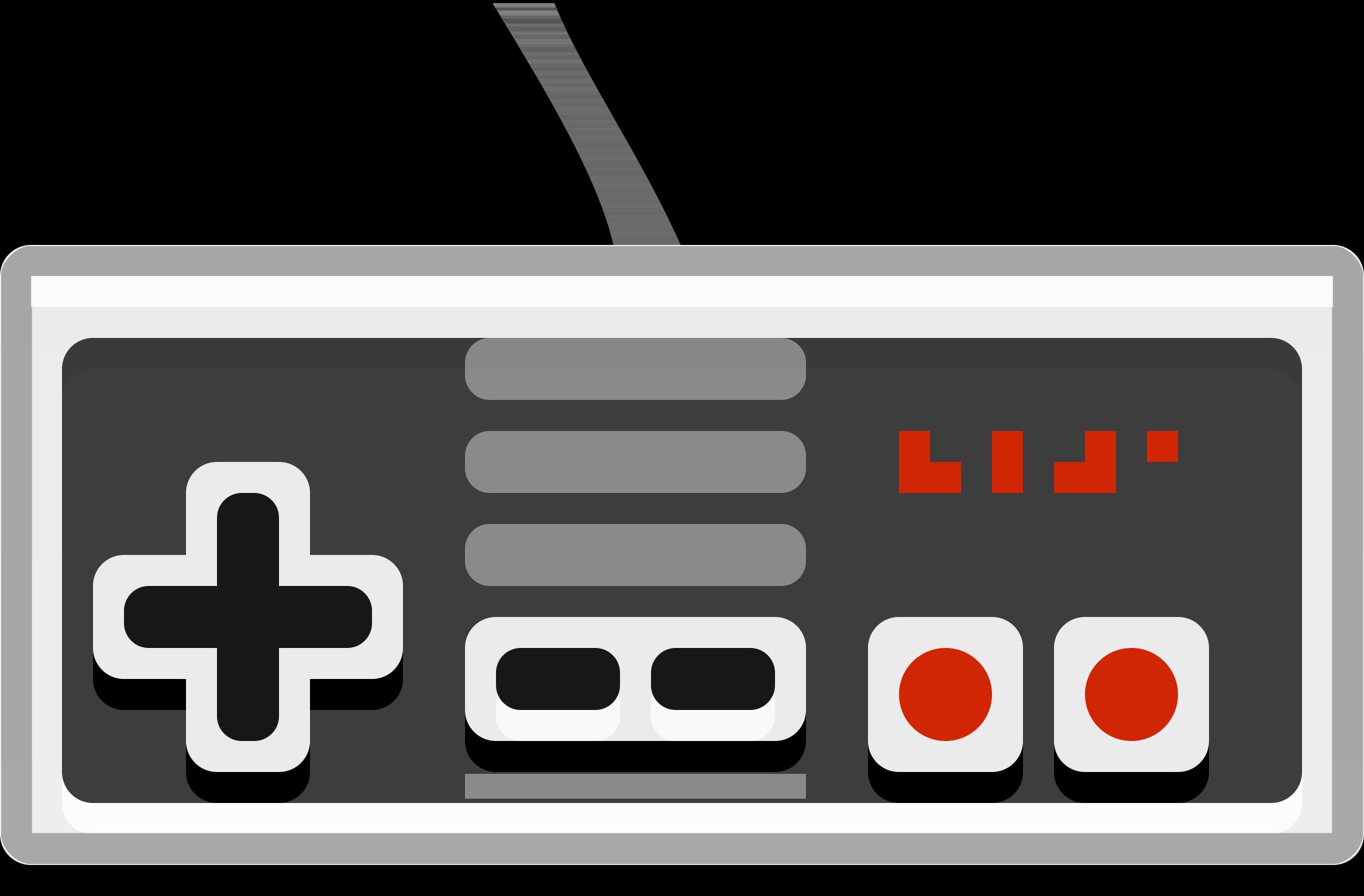 Nintendo Controller Clipart.