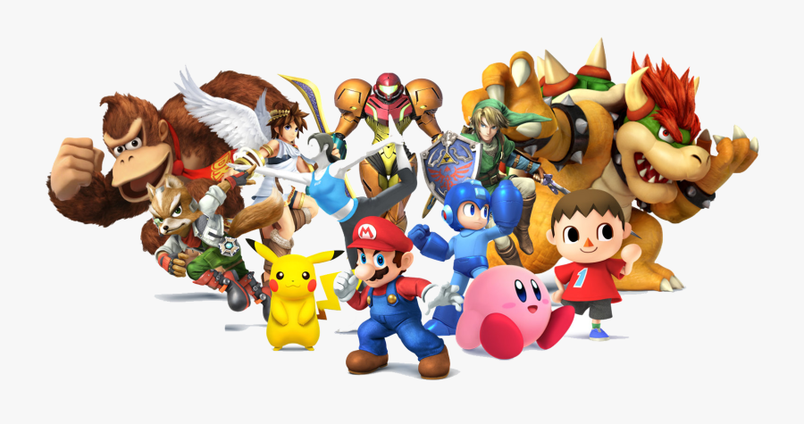 Download Nintendo Characters Transparent Png.