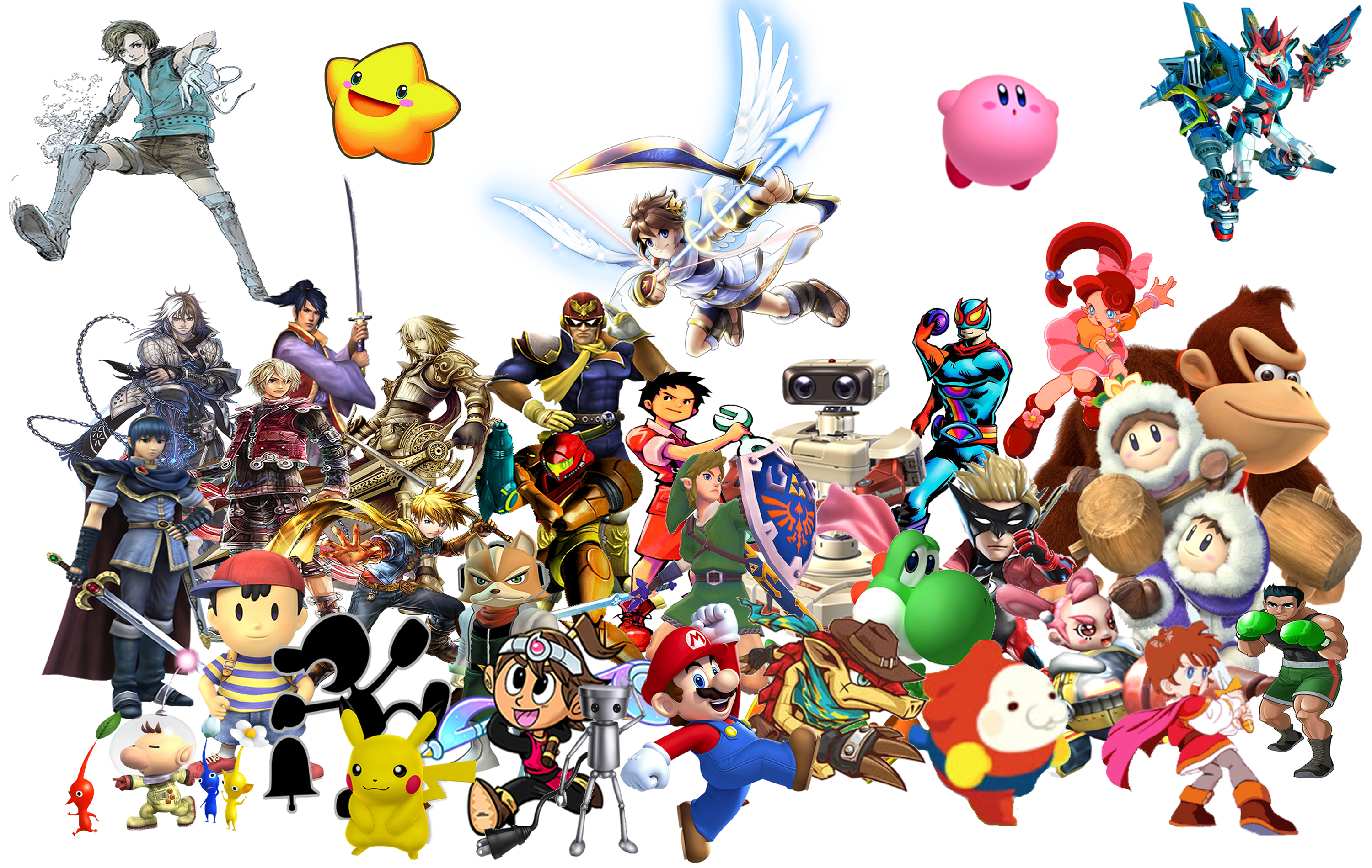 Nintendo PNG Images Transparent Free Download.