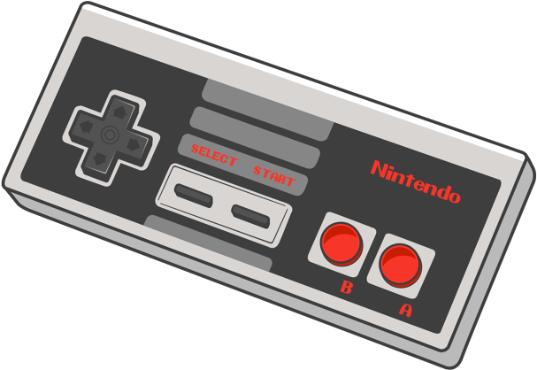 Nes Controller Drawing at PaintingValley.com.