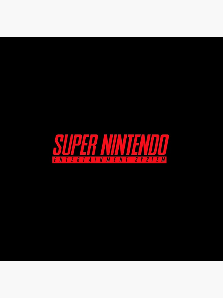 Super Nintendo ENTERTAINMENT SYSTEM (SNES) original logo.