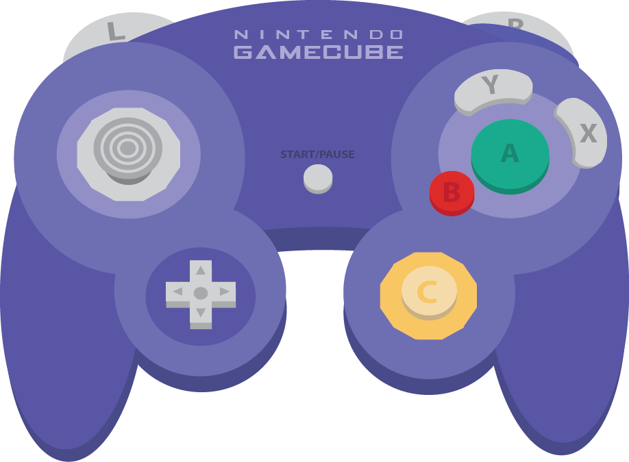 Download Gamecube Controller Buttons Png Clip Art Library.