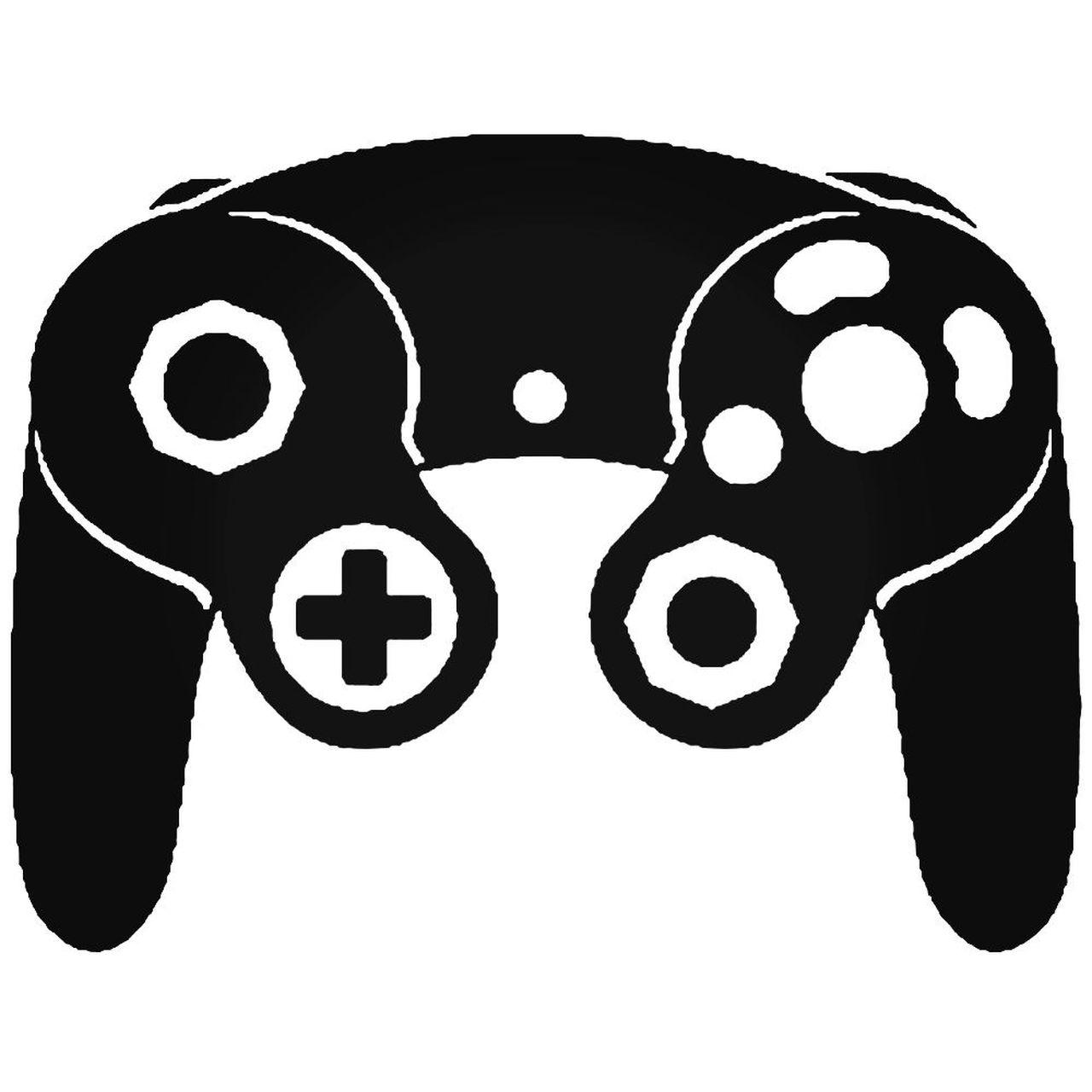 Nintendo Gamecube Controller Mario Wii Gc Decal.