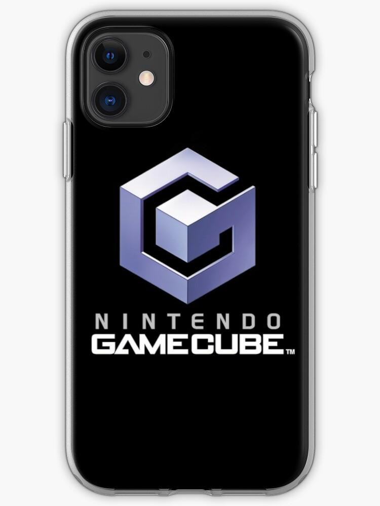 \'Nintendo Gamecube Logo\' iPhone Case by TheCosmicGnome.