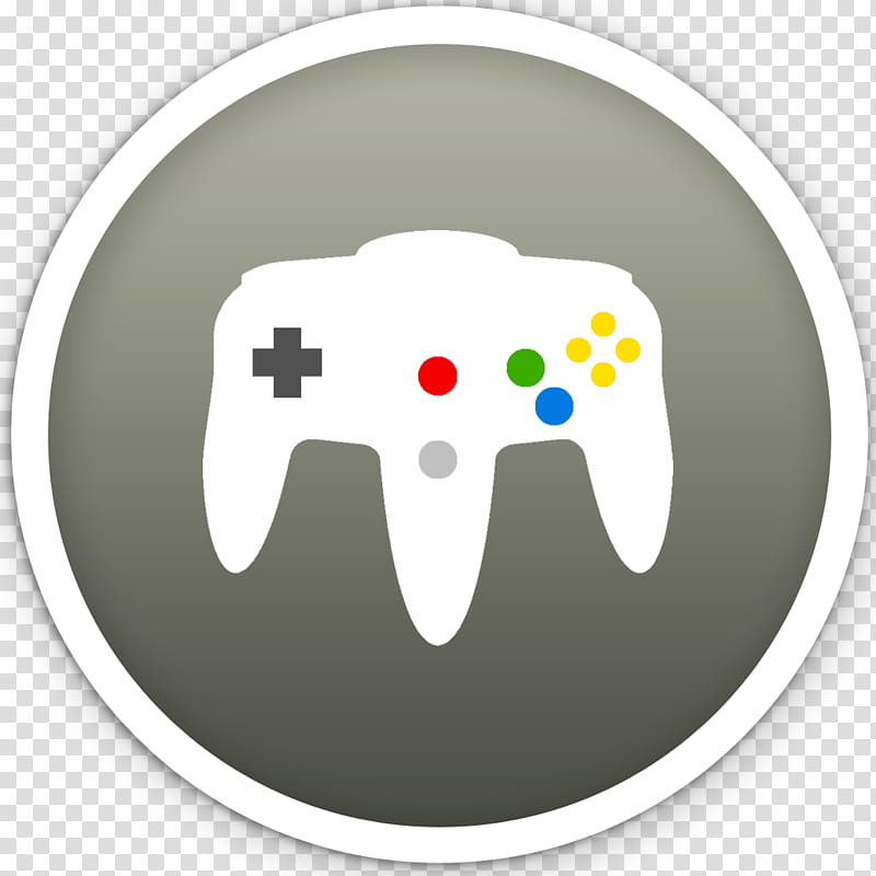Dots, white Nintendo game controller icon transparent.