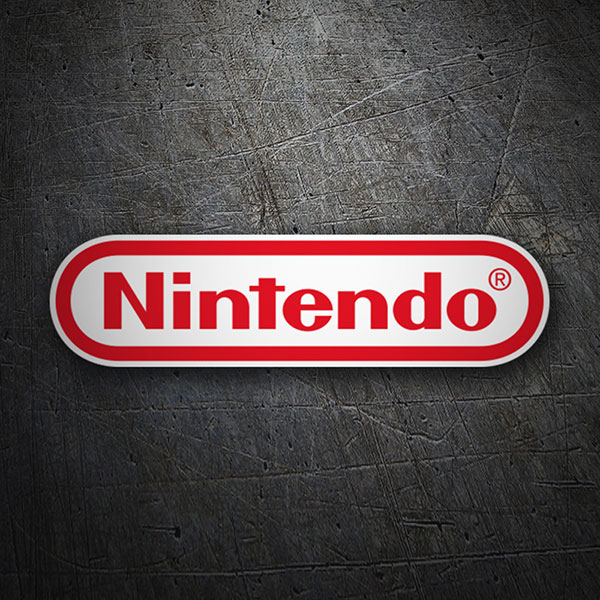 Sticker Nintendo Logo.