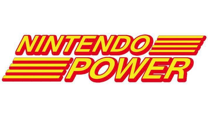 Nintendo Power logo.