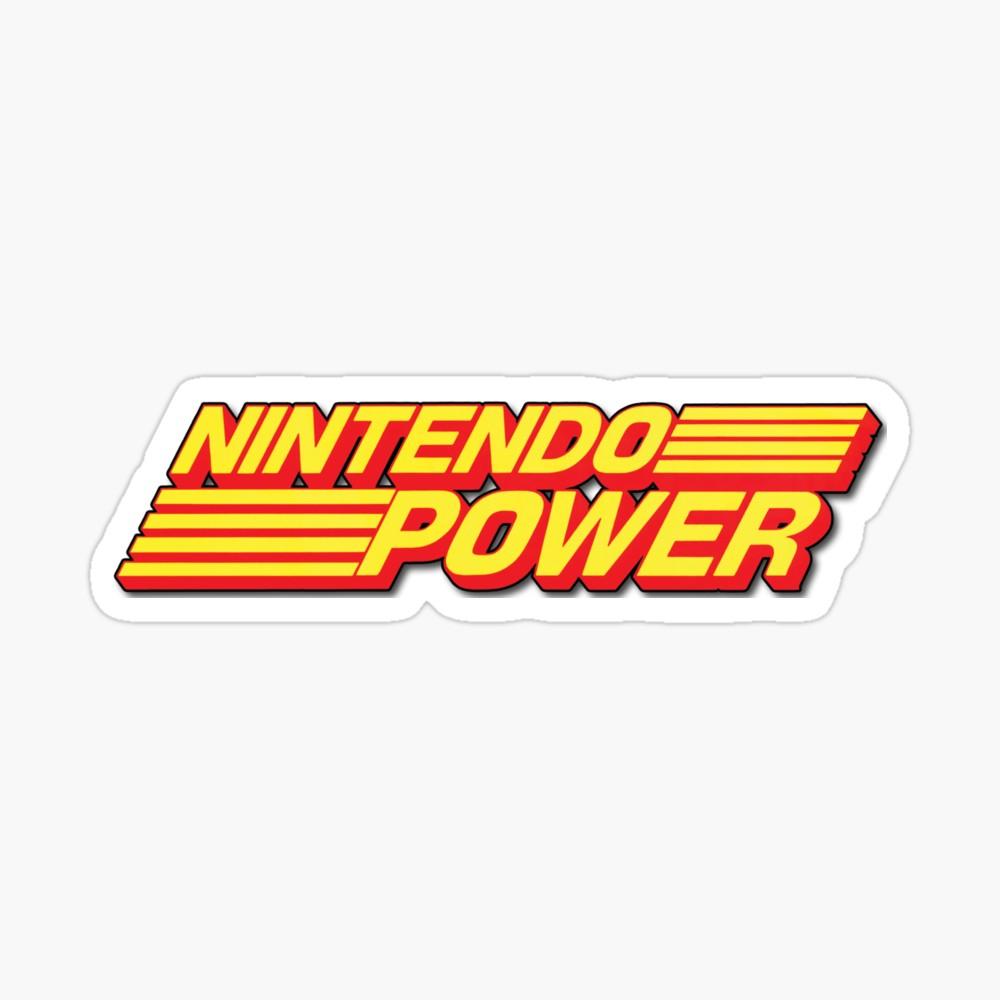 Nintendo Power Retro Logo.