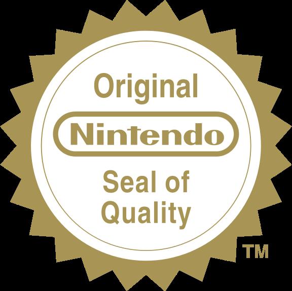 HD Nintendo Seal Of Quality.