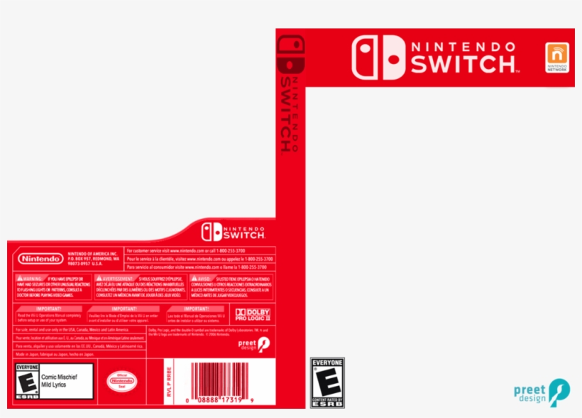 Nintendo Switch Box Png Clip Art Library Library.